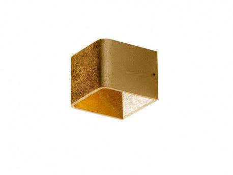 Kinkiet Felix S AZ2425 Azzardo nowoczesna oprawa w kolorze złotym