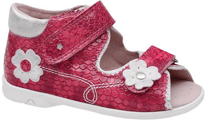 Sandałki dla dziewczynki KORNECKI 4962 Fuksja Sandały
