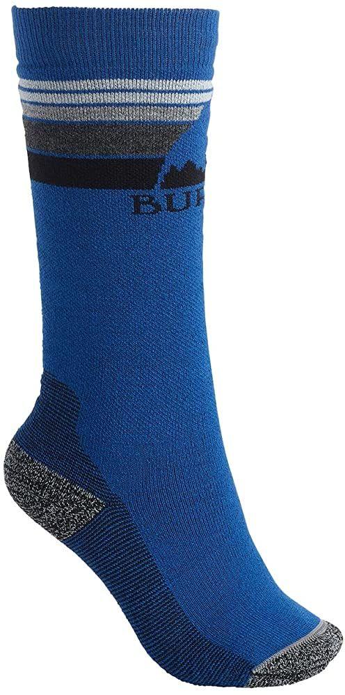 Burton Dziecięce skarpety z emblematem, klasyczne niebieskie, małe/średnie