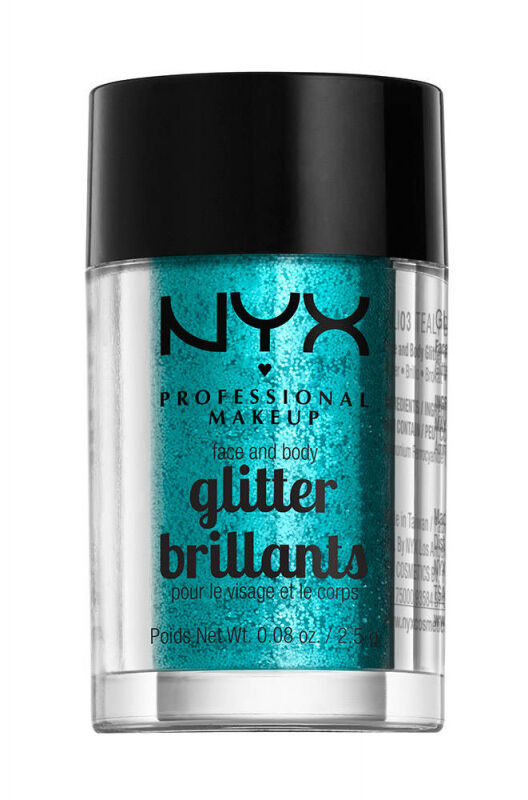 NYX Professional Makeup - Glitter Brillants - Brokat do twarzy i ciała - 03
