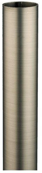 Rura karnisza 300 cm 19 mm stal antyczna