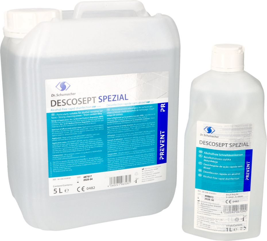Descosept Spezial – bezalkoholowy środek do mycia i szybkiej dezynfekcji (Dr. Schumacher)