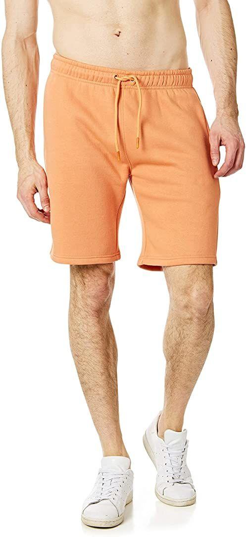 Ript Essentials by Ript Performance RCSHO765 męskie miękkie w dotyku spodnie dresowe joggery joggery joggery spodnie do biegania pomarańczowy S