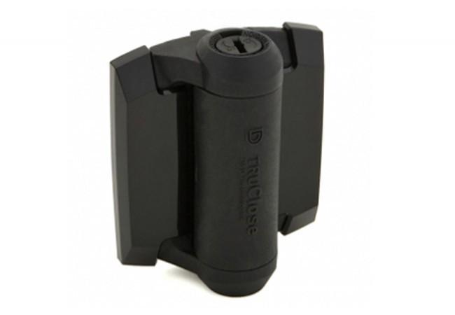 Zawias samozamykający D&D do furtek, dystans 6-22mm/30kg, (TCA1S3BT), czarny (2szt.)