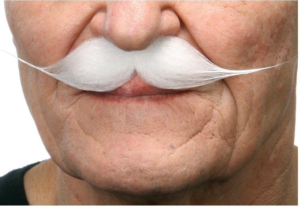 Żywe kostiumy 202825 wąsy, wielokolorowe, jeden rozmiar