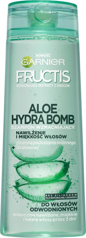 GARNIER - ALOE HYDRA BOMB - Wzmacniająco-nawilżający szampon do włosów odwodnionych - 400 ml