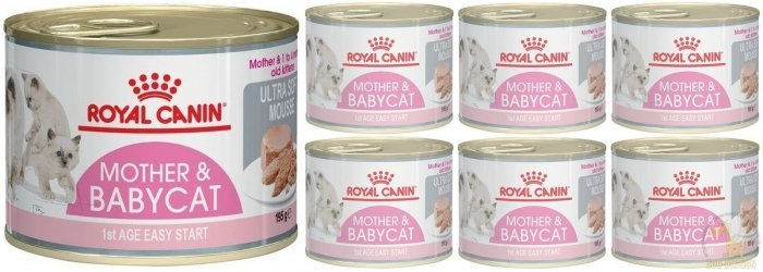 Royal Canin Mother & Babycat 12x195g
