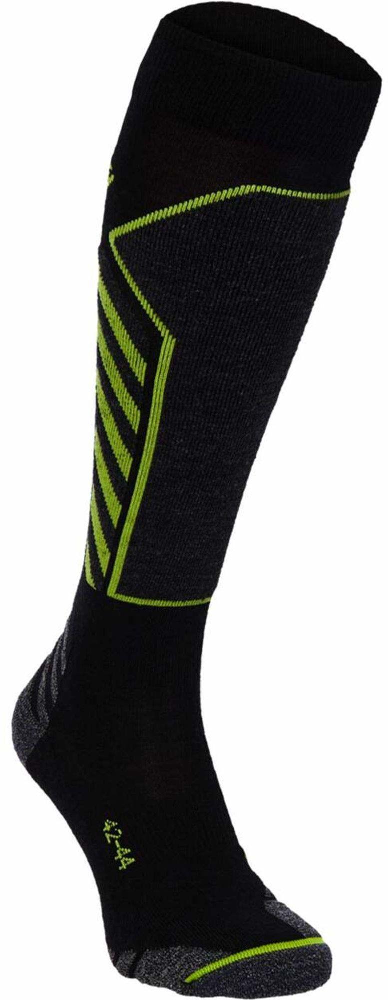 McKINLEY Billie UX męskie rajstopy czarny czarny/zielony 39-41