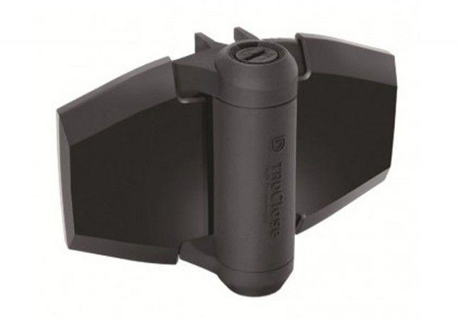 Zawias samozamykający D&D do furtek, dystans 19 mm/30 kg, (TCA3L2S3BT), czarny (2szt.)