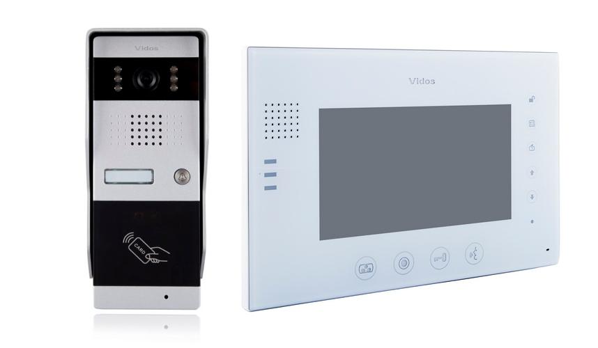 Wideodomofon vidos m670w-s2/s50a - szybka dostawa lub możliwość odbioru w 39 miastach