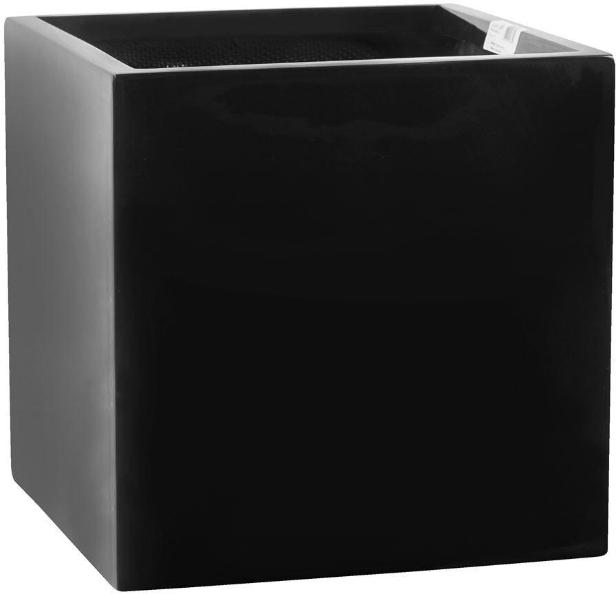Donica z włókna szklanego D92B czarny połysk