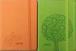 Kalendarz 2020 książkowy - terminarz A6 Vivella z gumką ZAKŁADKA DO KSIĄŻEK GRATIS DO KAŻDEGO ZAMÓWIENIA