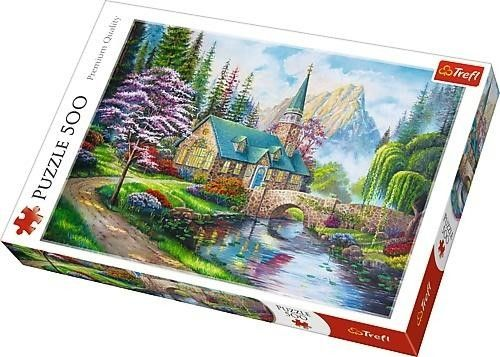 Trefl Puzzle Układanka 500 Elementów Leśne Zacisze Trefl Premium Quality 5699-uniw