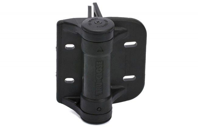 Zawias samozamykający D&D do furtek ciężkich, dystans 19-35 mm/60 kg, (TCHDRND1-MK2), czarny (2szt.)