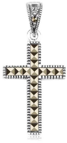 Srebrny krzyżyk - Markazyty