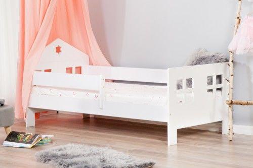 Łóżko 160x80cm Ladybird pojedyncze kolor biały