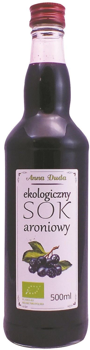 SOK ARONIOWY NFC BIO 500 ml - ANNA DUDA