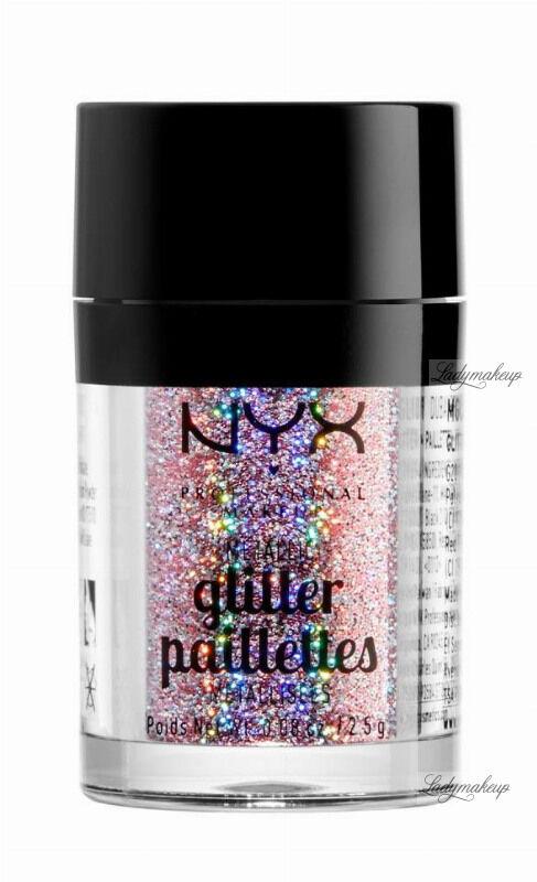NYX Professional Makeup - Metallic Glitter Paillettes - Brokat do twarzy i ciała - 03 BEAUTY BEAM