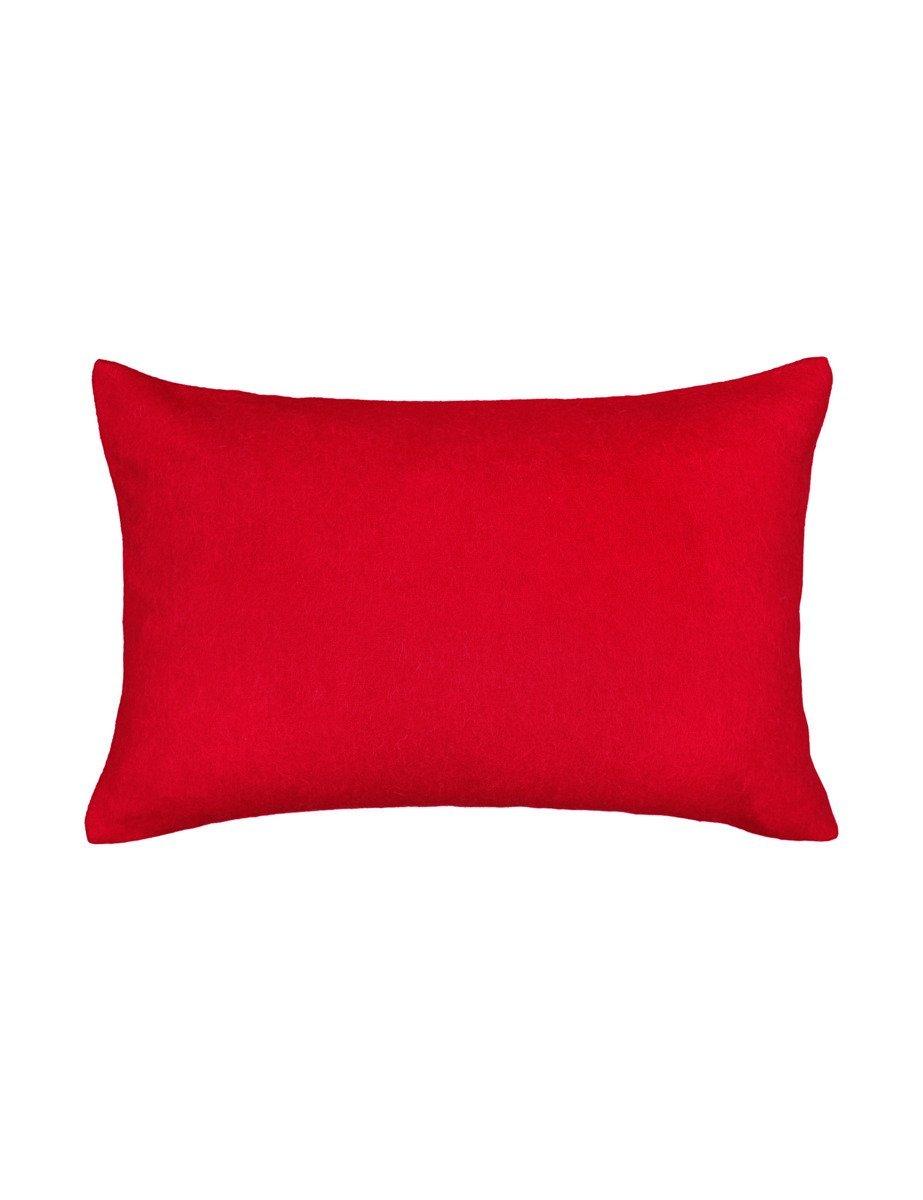 Poduszka wełniana Elvang Classic Red
