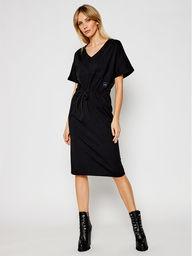 G-Star Raw Sukienka dzianinowa Adjustable D19289-B771-6484 Czarny Regular Fit