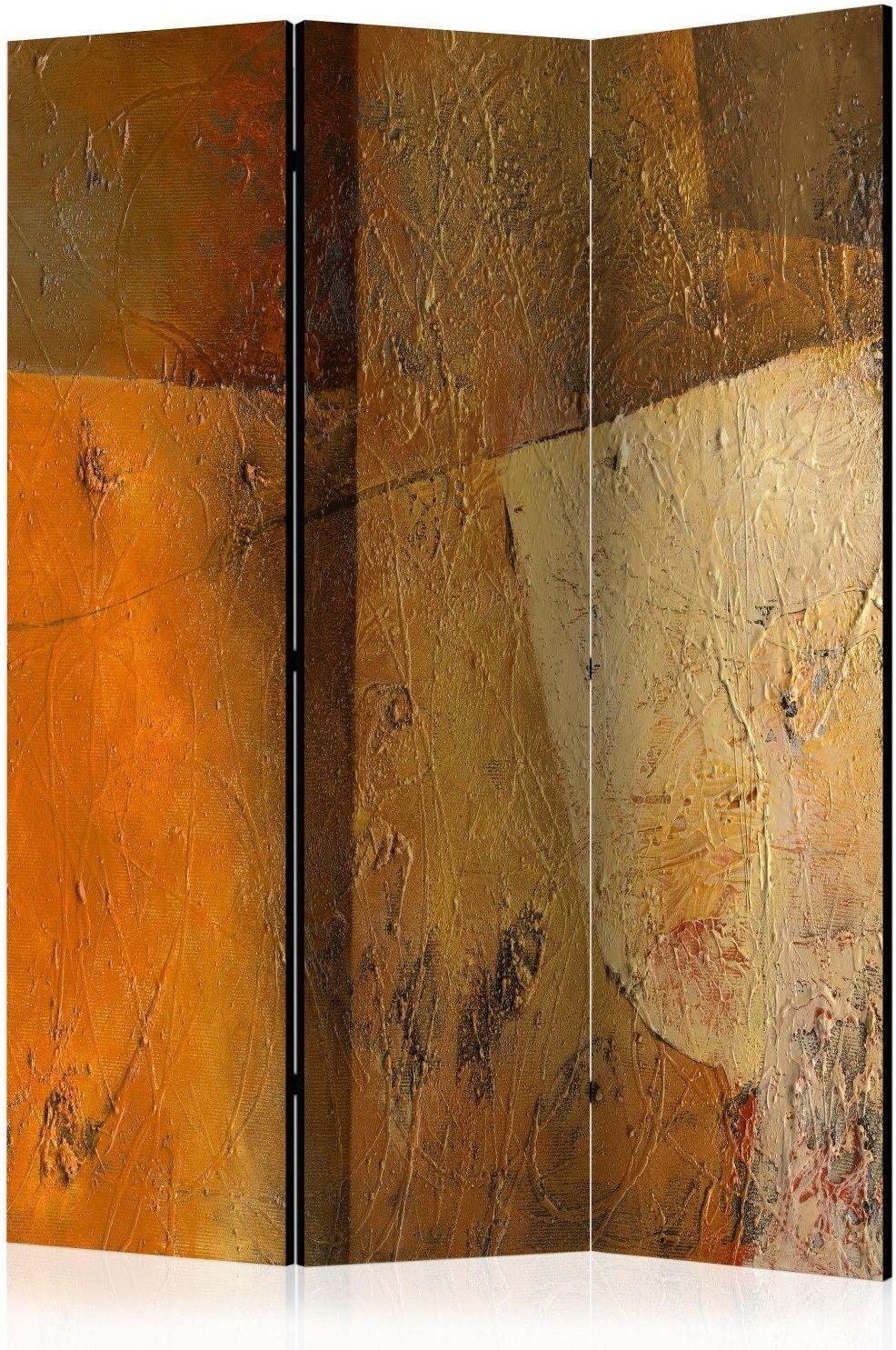 Parawan 3-częściowy - nowoczesny artyzm [room dividers]
