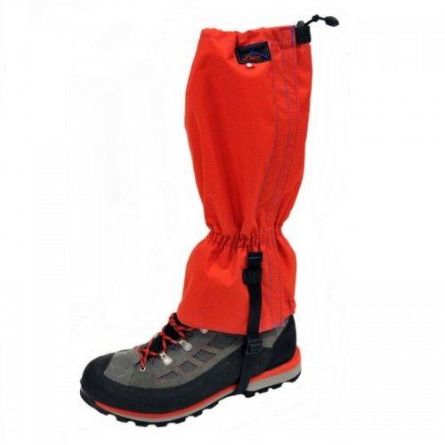 Stuptuty wodoodporne ochraniacze na buty czerwone