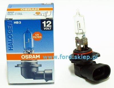 żarówka halogenowa HB3 standard - OSRAM