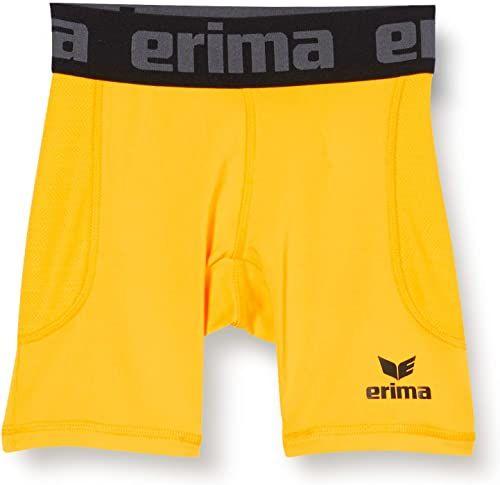 ERIMA Elemental Tights krótkie spodenki funkcyjne, żółte, XXXL