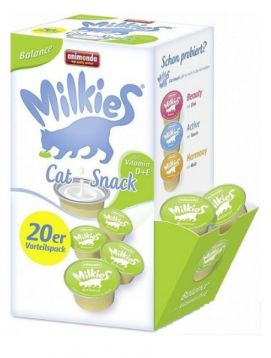 Animonda Milkies Balance z Wit. D + E 20 x 15 g