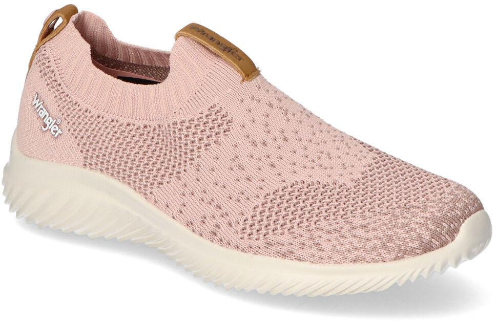 Sneakersy Wrangler WL11531A Różowe