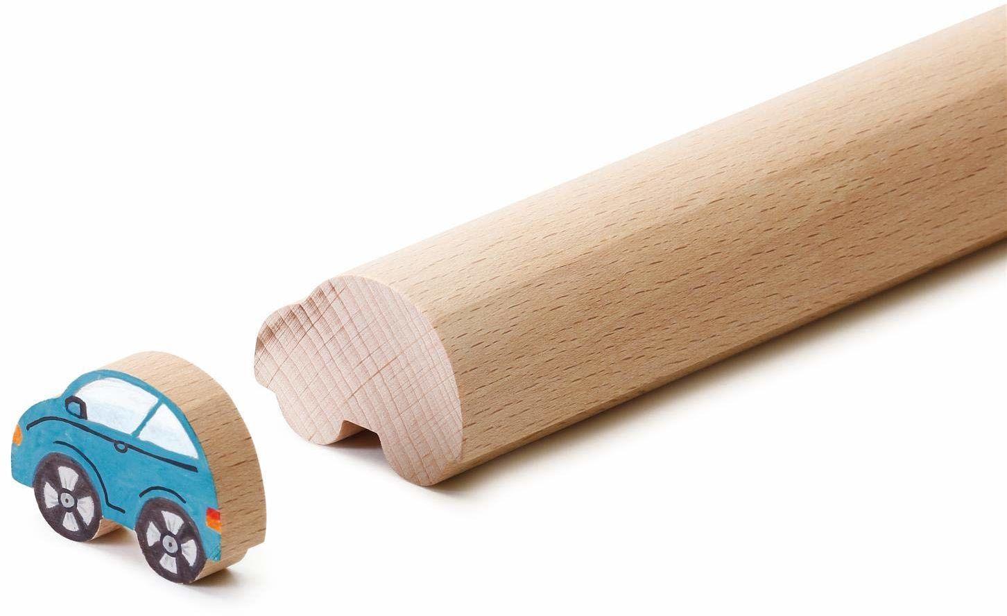 Erzi 41264 45 x 17 x 50 cm rękodzieło samochody formowanie drewniane zabawki