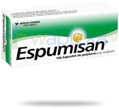 Espumisan 40 mg 100 kapsułek