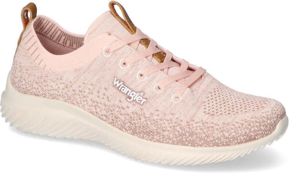 Sneakersy Wrangler WL11530A Różowe
