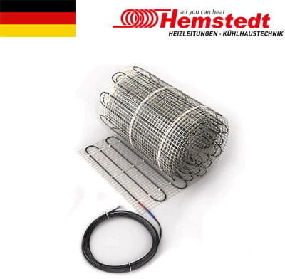 Mini mata grzewcza jednostronnie zasilana 0,6 m2, 150 W/m2 Hemstedt