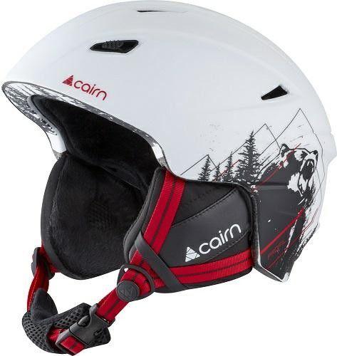 CAIRN kask zimowy narciarski/snowboardowy PROFIL White Red Rozmiar: 57-58,0606310201