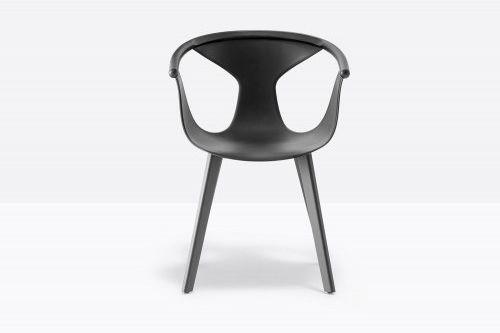 Pedrali Krzesło Fox 3725 BI Biały, Antracyt