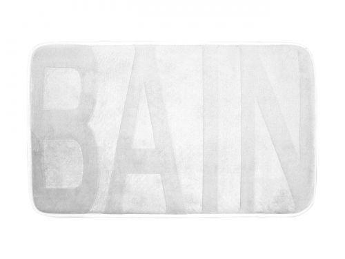 DYWANIK ŁAZIENKOWY BAIN - BIAŁY 45x75