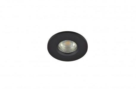 Oczko stropowe Ika round IP65 AZ3017 Azzardo czarna oprawa w nowoczesnym stylu