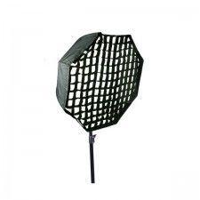 Softbox Mitoya reporterski parasolkowy 80cm Oktagonalny z gridem