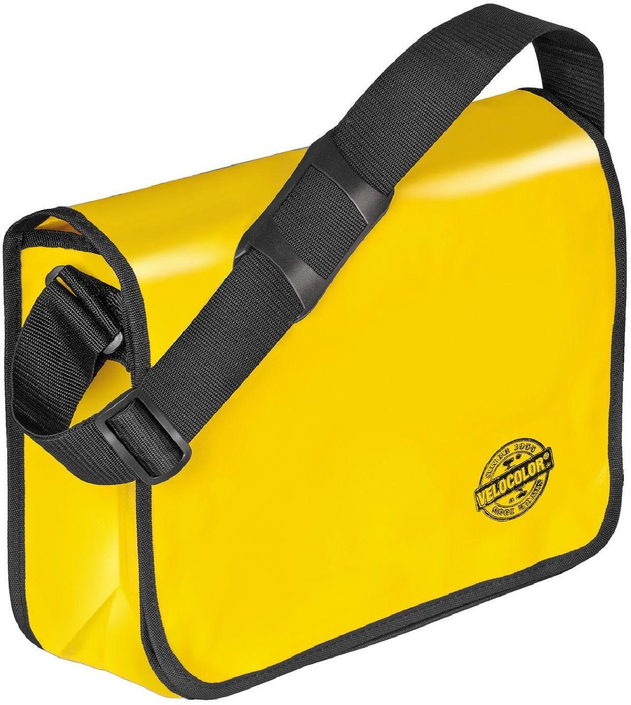 Veloflex Shoulder Bag Velocolor torba na ramię, różne kolory do wyboru, żółty (żółty) - 10100932