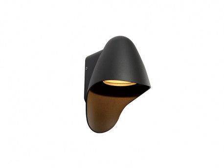 Kinkiet zewnętrzny Matera AZ2184 Azzardo ciemnoszara oprawa zewnętrzna w stylu design