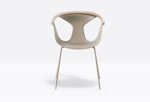 Pedrali Krzesło Fox 3726 ML Bordowy