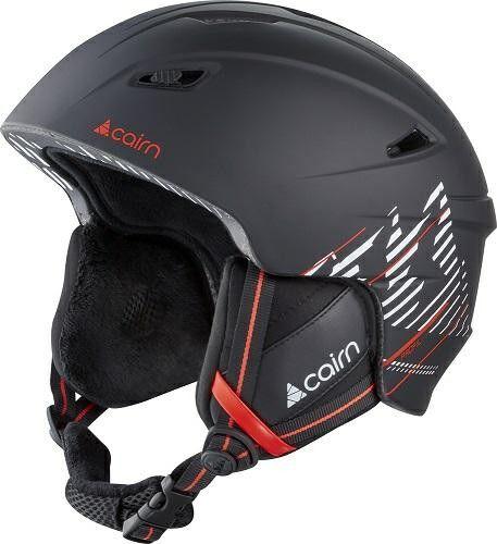 CAIRN kask zimowy narciarski/snowboardowy PROFIL black/orange Rozmiar: 57-58,0606310502
