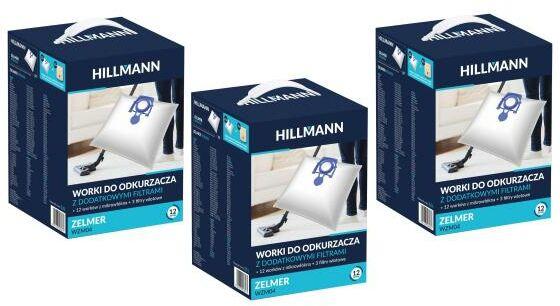 HILLMANN WZM04 36 worków + 9 filtrów - szybka wysyłka!