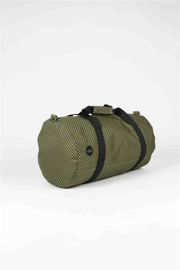 torba podróżna MI-PAC - Duffel Microdot Khaki/Black (132)