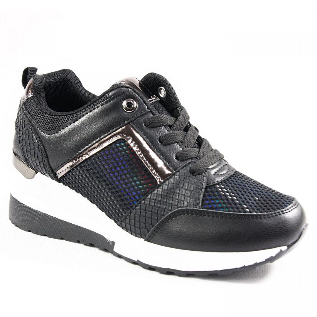 Sneakersy damskie Cabin H2038A czarne