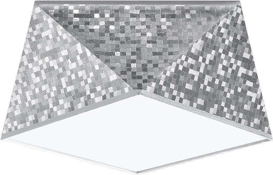 Srebrny plafon geometryczny - EX589-Hexi