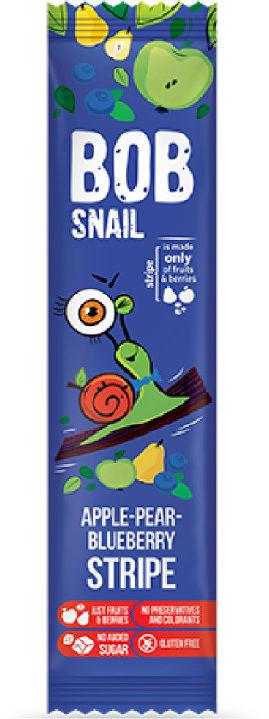 Bob Snail Przekąska jabłkowo-gruszkowo-borówkowa bez dodatku cukru - 14 g