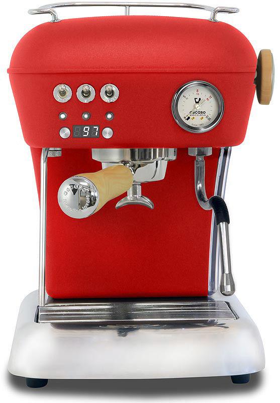 Ekspres do kawy ASCASO DREAM PID Love Red