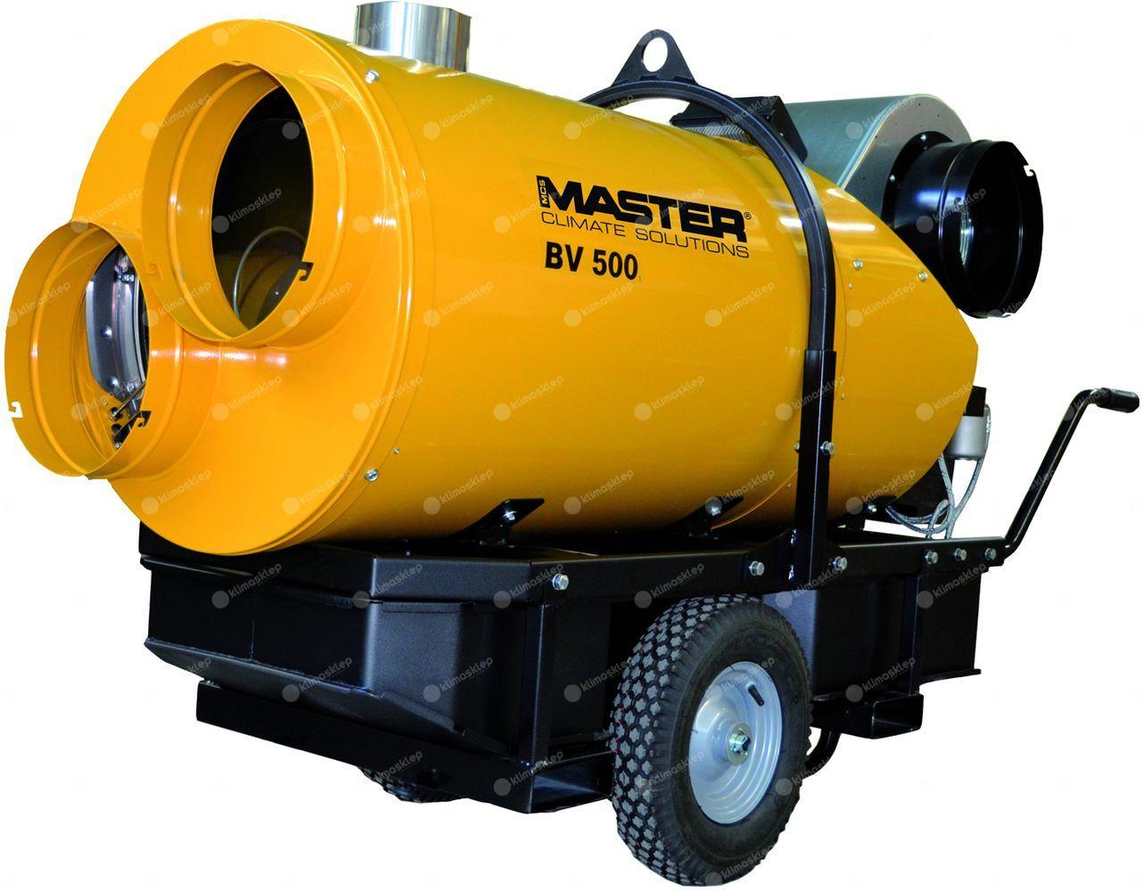 Nagrzewnica olejowa Master BV 500-13CR - dmuchawa olejowa, z odprowadzeniem spalin